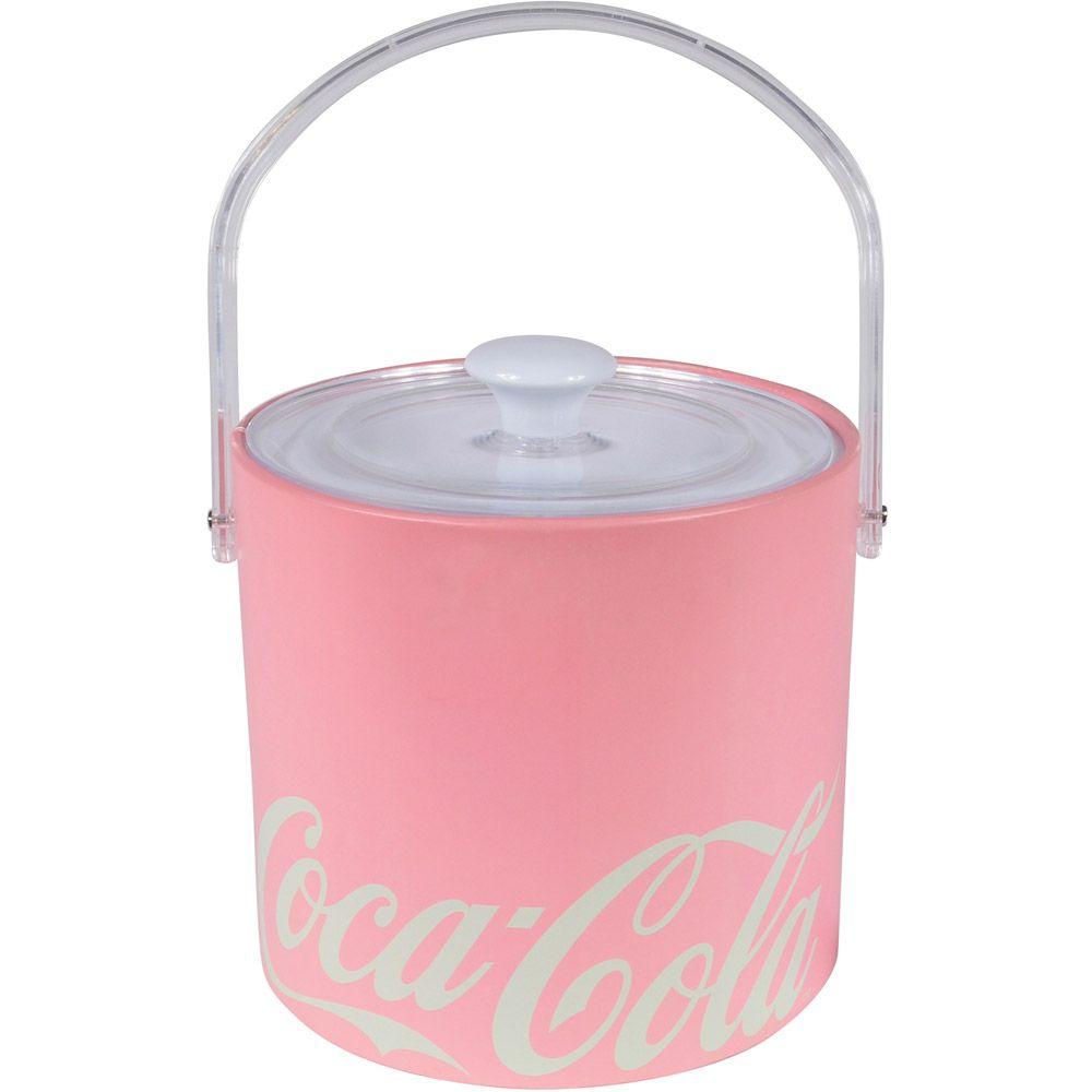 Balde Gelo Coca Cola Couro Contemporary Green Rosa Urbaan