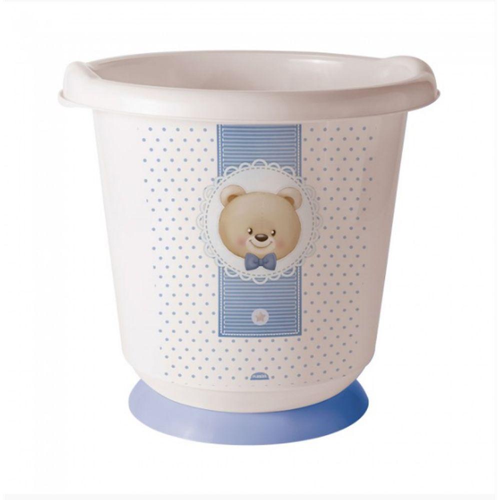 Banheira Sensitive Ofuro Urso Azul Plasutil