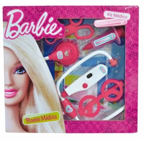 Barbie Kit Médica Pequeno Fun