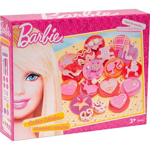 Barbie Massinha Cookies Coloridos