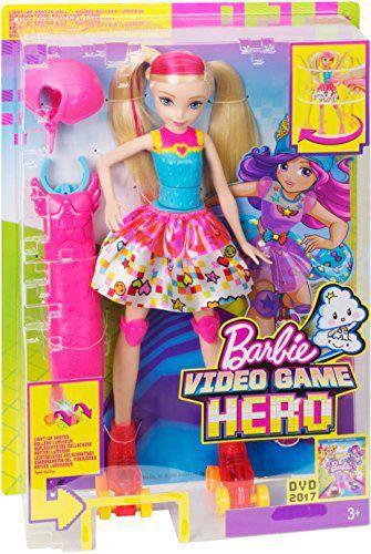 Barbie Patinadora De Video Game Mattel