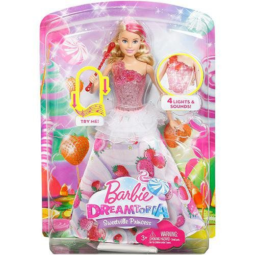 Barbie Princesa Reino Dos Doces Mattel
