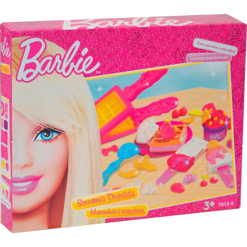 Barbie Sorveteria Divertida Funny