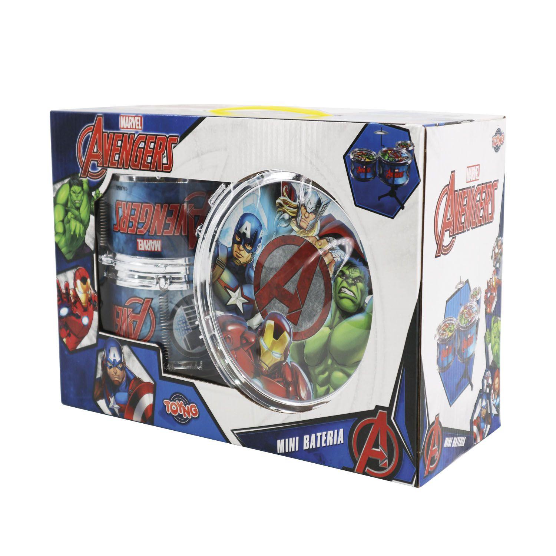 Bateria Infantil Avengers Toyng