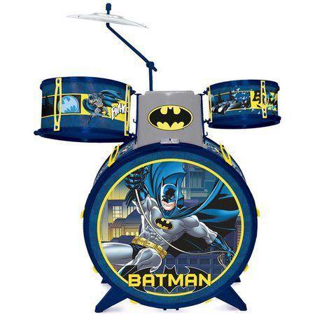 Bateria Infantil Batman Cavaleiro