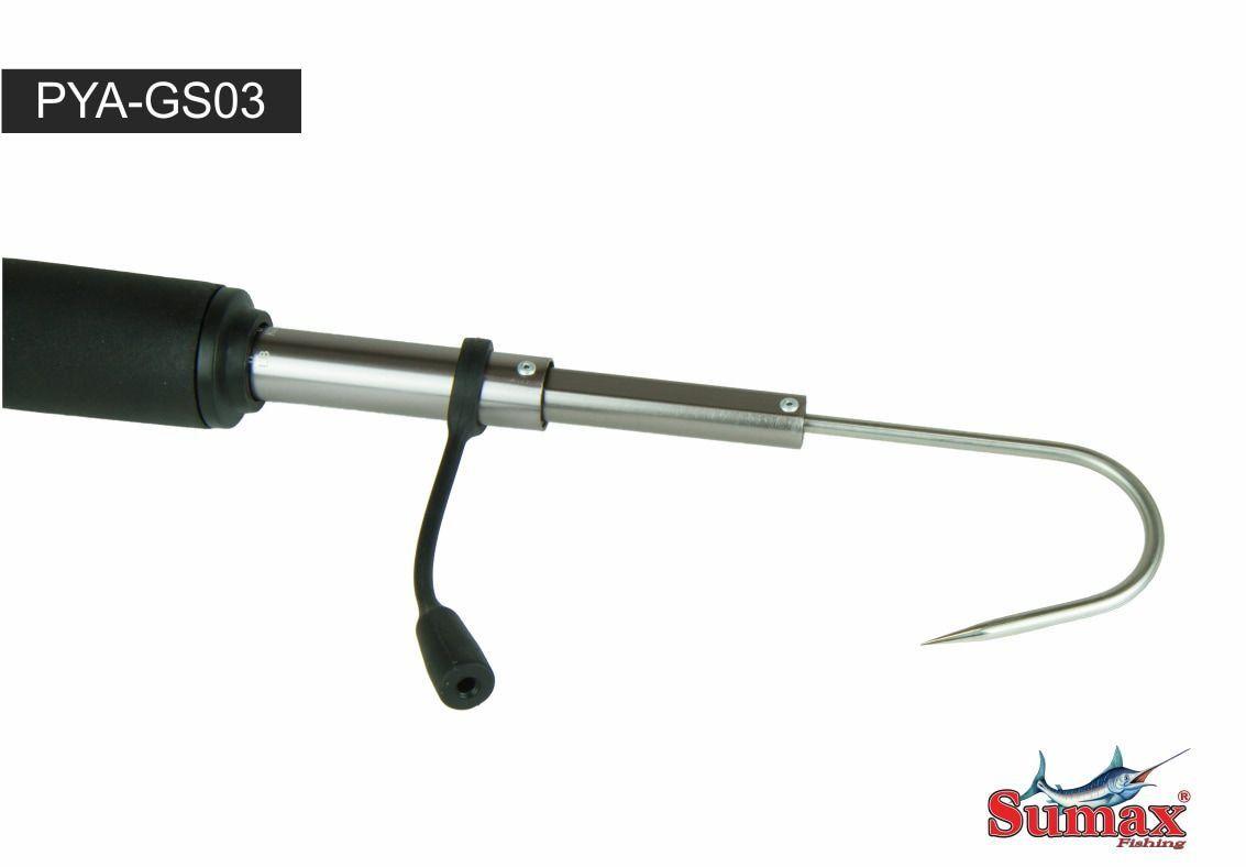 Bicheiro De Pesca Gaff Telescopico Fisga Pya Gs03 Com Balança Sumax