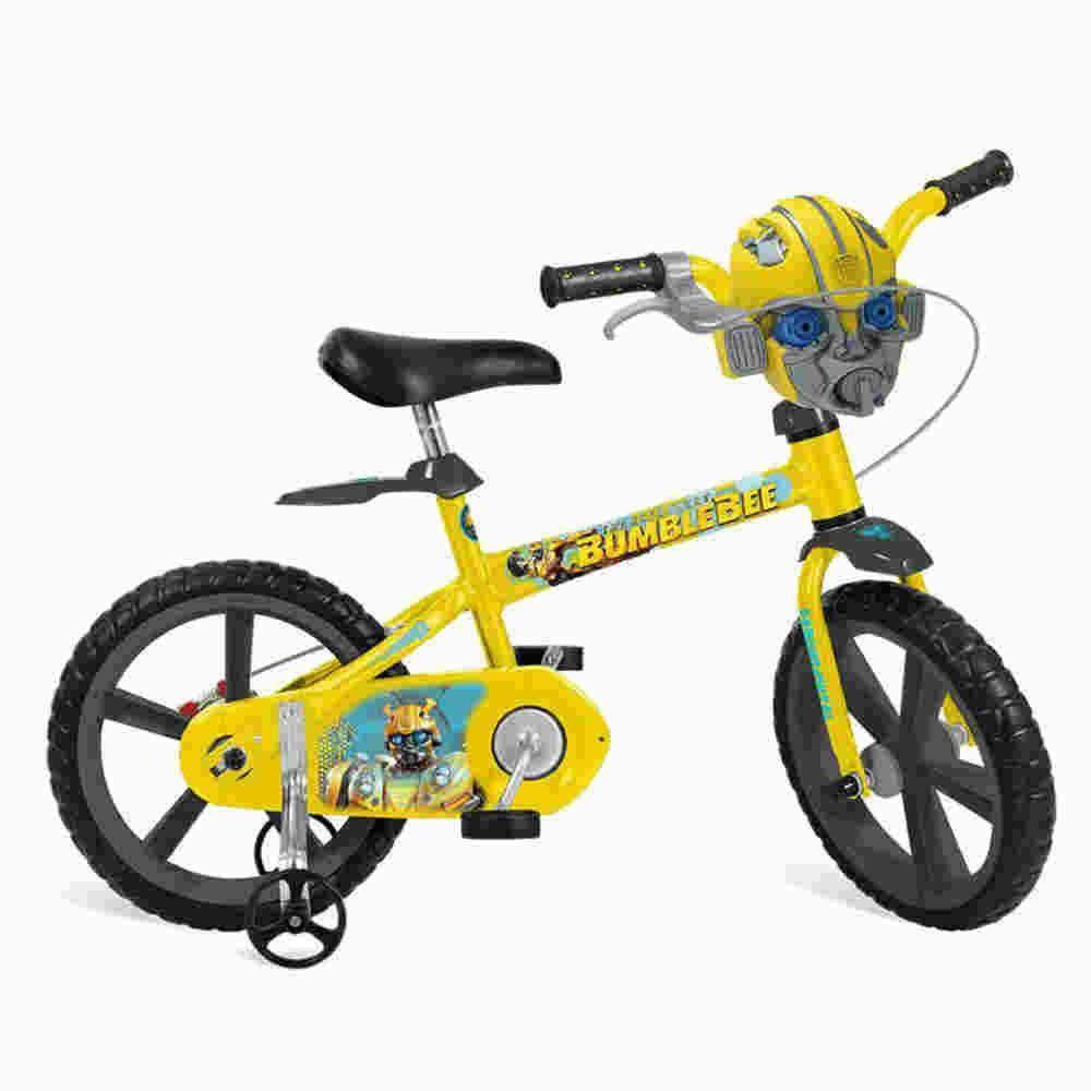 Bicicleta Aro 14 Transformers Bandeirante Brinquedos