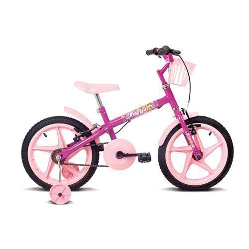 Bicicleta Aro 16 Verden Fofys Pink
