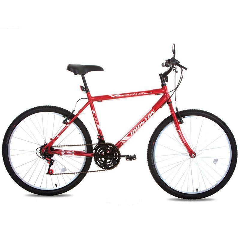Bicicleta Aro 26 Foxer Hammer Vermelha Houston