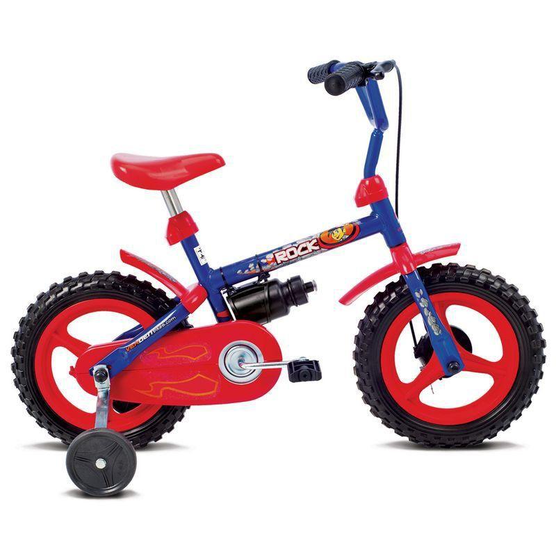 Bicicleta Infantil Verden Rock Aro 12 Azul E Vermelho