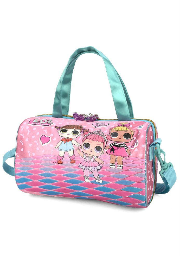 Bolsa Com Alça Infantil Lol Pink Luxcel