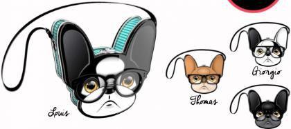Bolsa De Metal Trendy Dog Funny - Sortidos