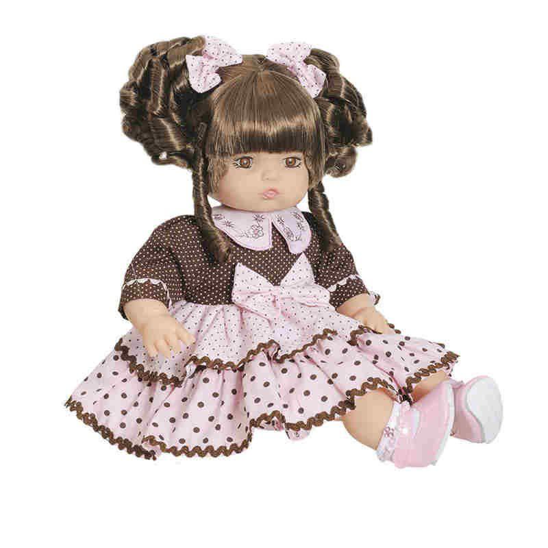 Boneca Addara Chocolate Anjo Brinquedos