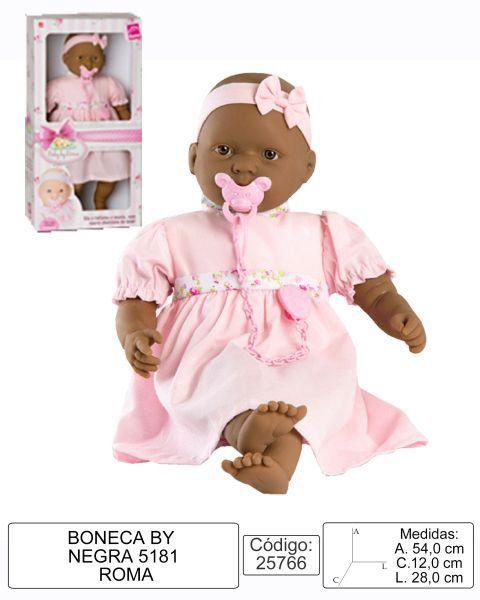 Boneca Baby By Negra Roma