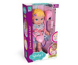 Boneca Babys Collection Dodoi Super Toys