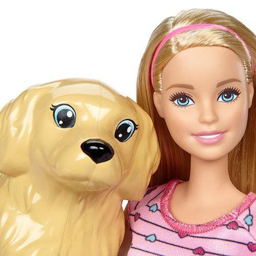 Boneca Barbie Familia Filhotinhos Recm Nascidos Mattel
