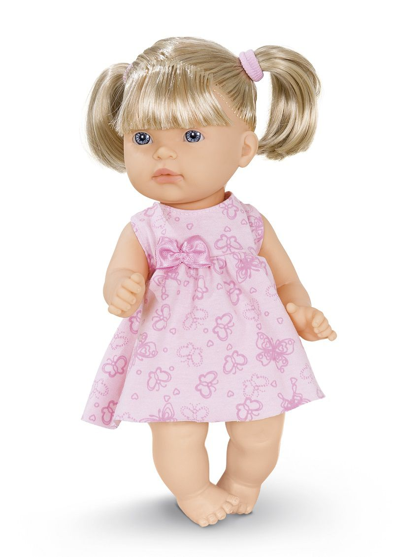 Boneca Bebe Mellina C/Cabelo Super Toys