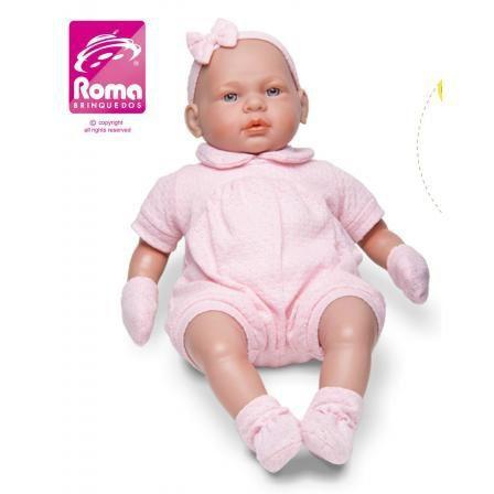 Boneca Bebe Real Roma
