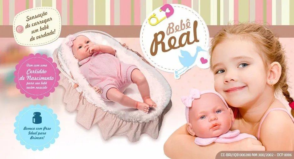 Boneca Bebe Real Sons De Bebe Roma