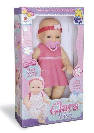 Boneca Clara Baby Diver Toys