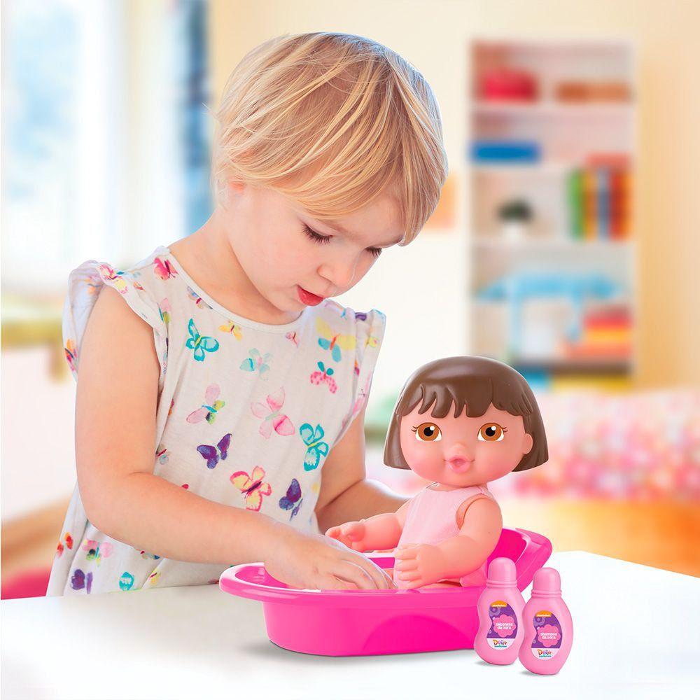 Boneca Dora Banho Bambola