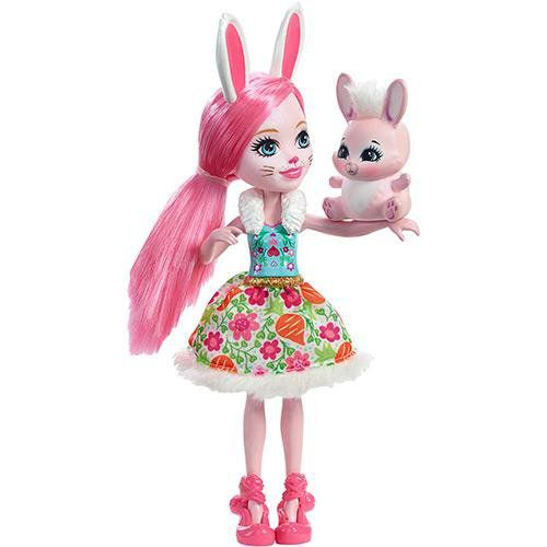 Boneca Echantimals Com Bichinho Mattel