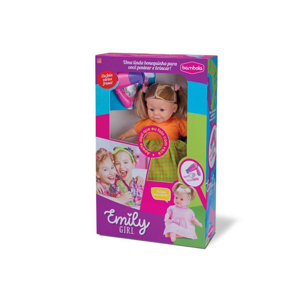 Boneca Emily Girl Bambola