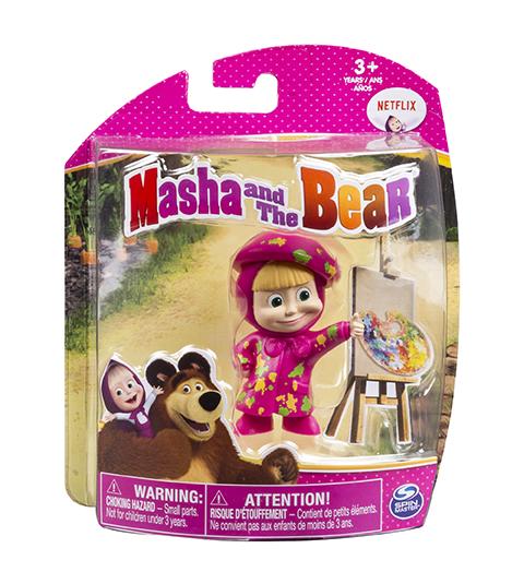 Boneca Masha E O Urso Basica Sunny
