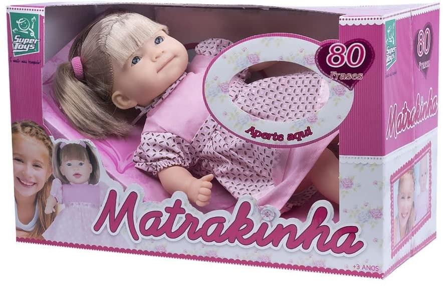 Boneca Matrakinha Com Cabelo 80 Frases