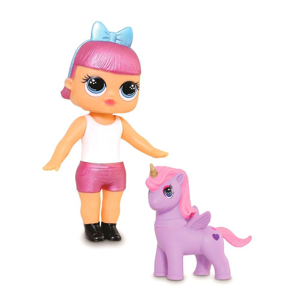 Boneca Mini Doll Fantasy Unicornio Adijomar