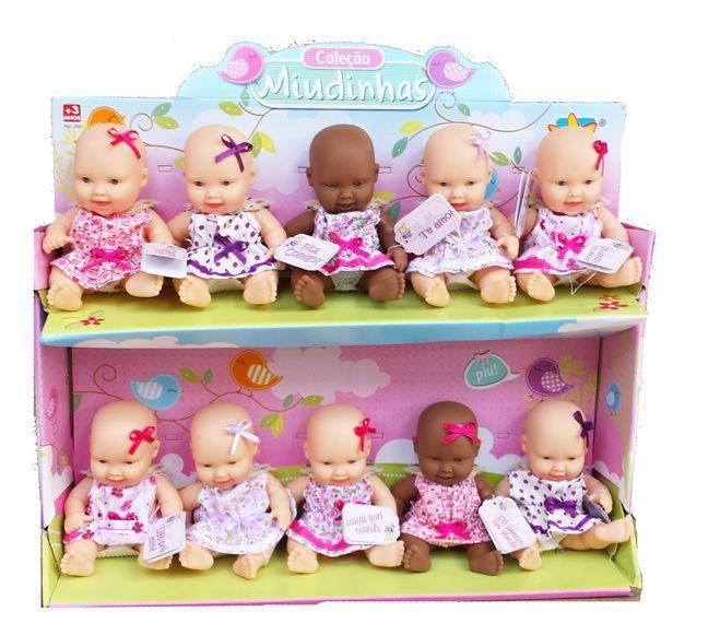 Boneca Mini Miudinhas Diver Toys - Sortidas