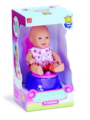 Boneca Mini Miudinhas Privadinha Diver Toys