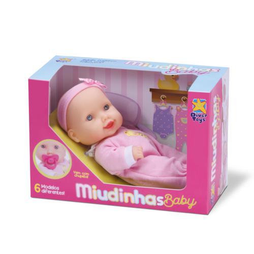 Boneca Miudinhas Baby Diver Toys