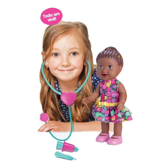 Boneca My Little Doutora Negra Diver Toys