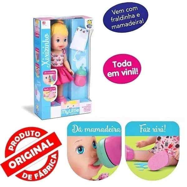 Boneca My Little Faz Xixi Diver Toys