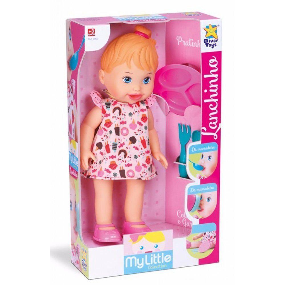 Boneca My Little Lanchinho Diver Toys