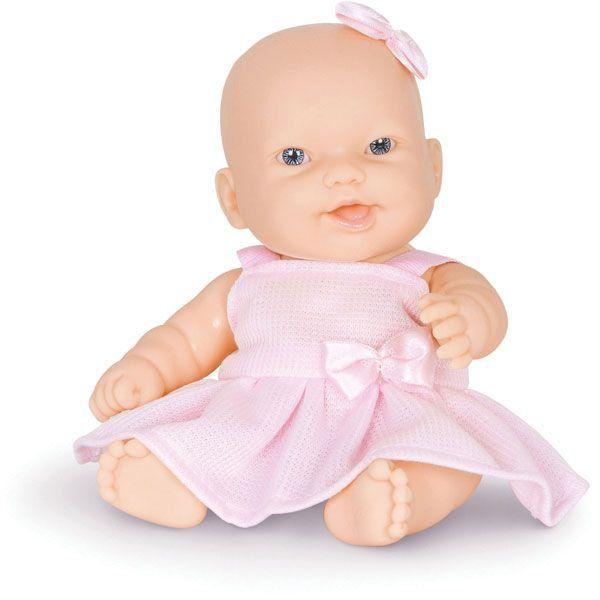 Boneca Nenequinha Branca C/Vestido