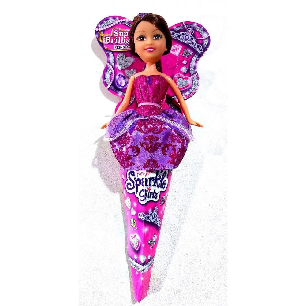 Boneca Sparkle Girlz Princesa Do Cone