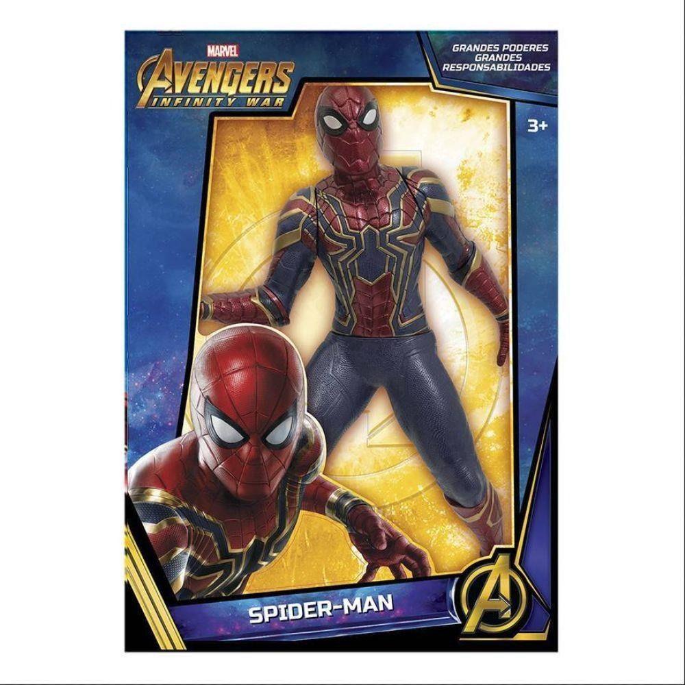 095058edd0 Boneco Avengers Ultimato Gigante Iron Spider Mimo Brinquedos - Papellotti