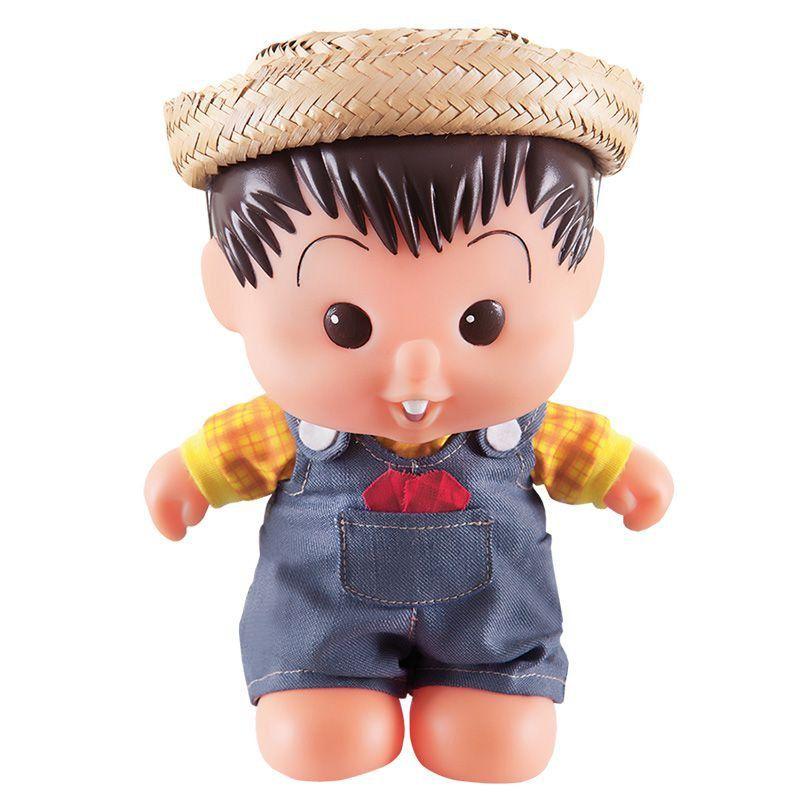 Boneco Chico Bento Bonitinho Multibrink