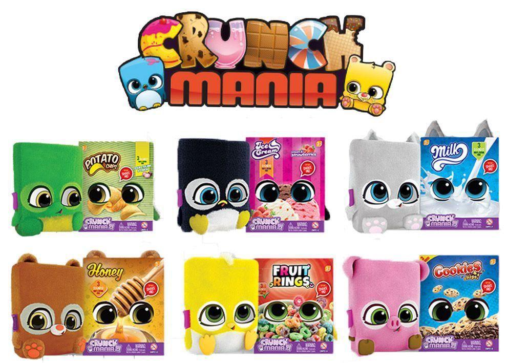 Boneco Crunch Mania Fun
