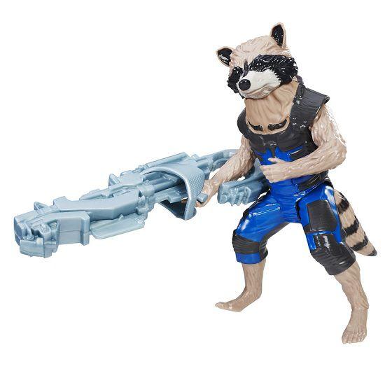 Boneco Guardioes Da Galaxia Titan Raccoon Hasbro