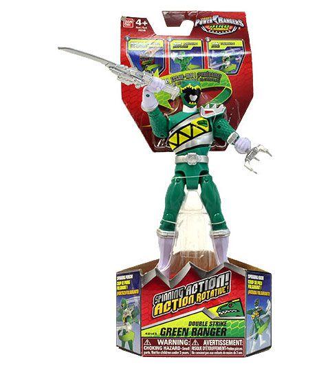 Boneco Power Rangers Dino Charge Verde Sunny