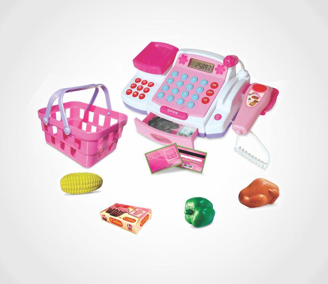 Brinquedo Caixa Registradora Lider