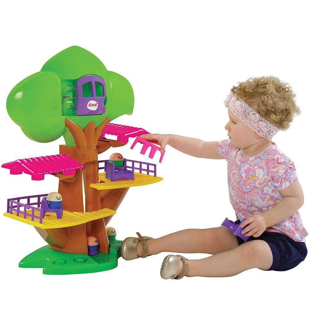 Brinquedo Casa Na Árvore Musical Com Elevador Mk278 Dismat