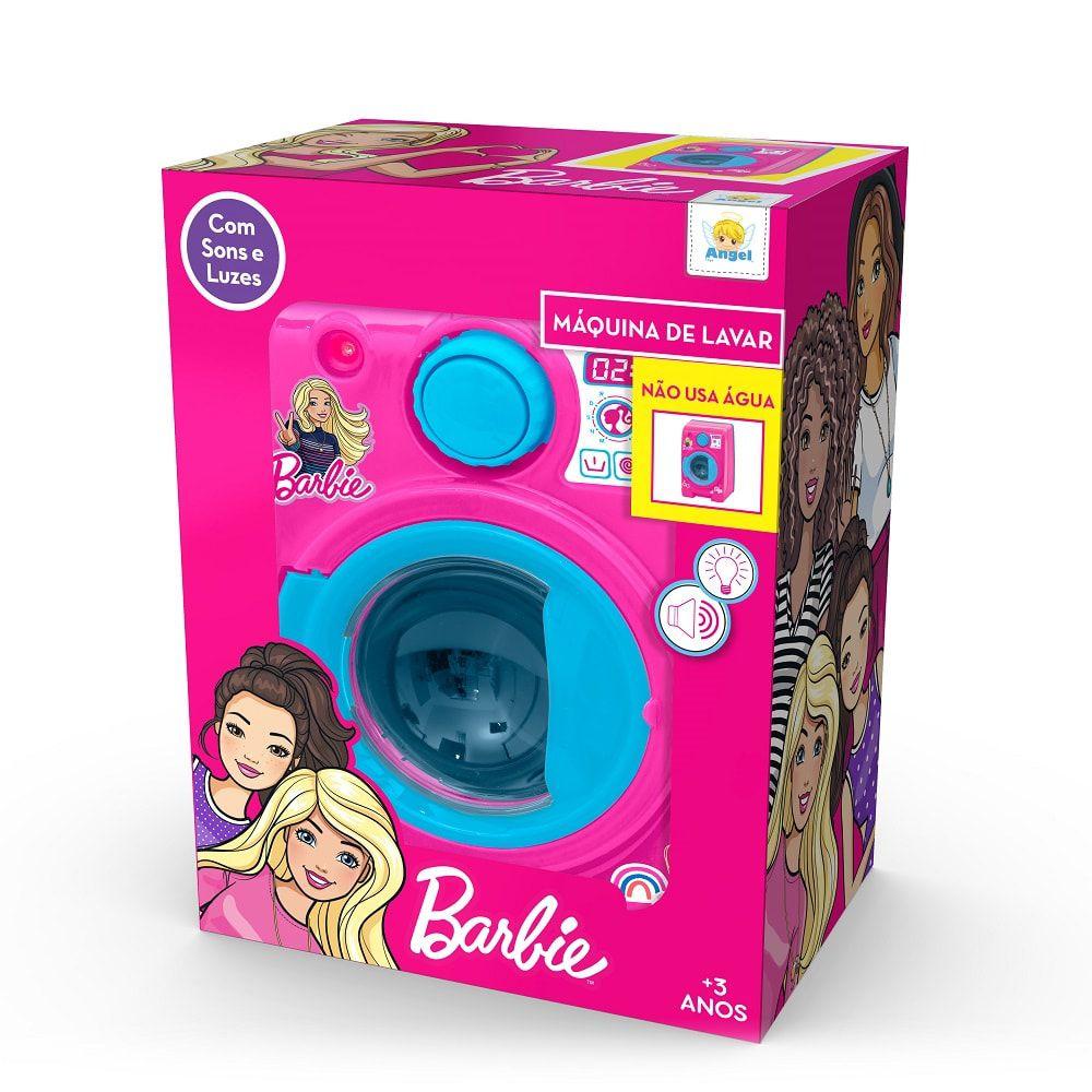 Brinquedo Maquina De Lavar Barbie Angel