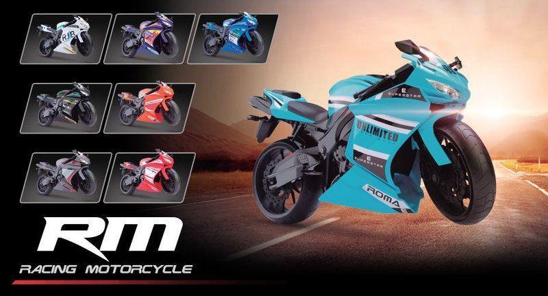 Brinquedo Moto Racing Cores Sortidas Roma