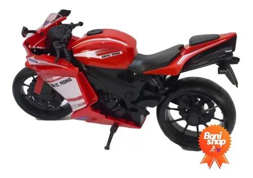 Brinquedo Moto Racing Vermelha Roma