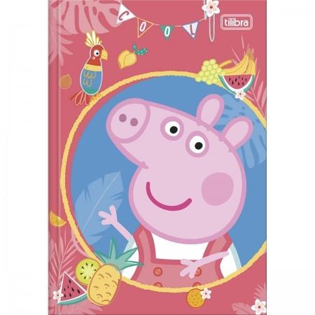 Caderno Brochura 1/4 C/D 80 Folhas Peppa Pig Tilibra