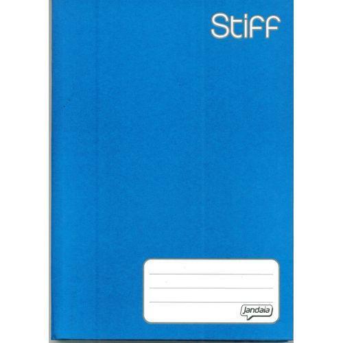 Caderno Brochura 1/4 C/D 96 Folhas Azul Jandaia
